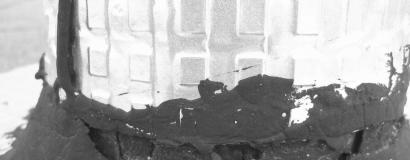 Problematický štřešní detail - komínek