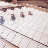 Výsledný efekt na střechách