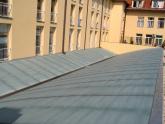 Výsledný efekt na ploché střeše